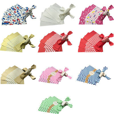 50PCS Candy Sweet Wrappers Wedding Making Wrapping Twisting Wax Papers 12*9cm