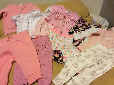 Baby Girls Size 00 Mixed Bulk Items 13 Bonds And More