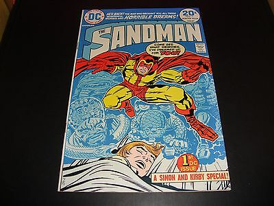 Sandman #1 Original DC Comic Book From 1974 NM 9.2 First Issue Jack Kirby WOW!!!