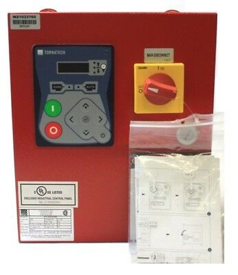 Tornatech JP3-240/3/3/60 Jockey Pump Controller 240V 3HP Enclosure Control Panel