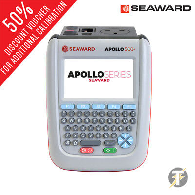 Seaward Apollo 500 + Portable Appareils Bluetooth Pat Testeur Fournit Calibré