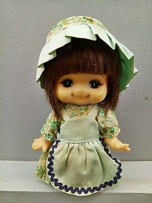 vintage rubber sekiguchi japan doll 7in