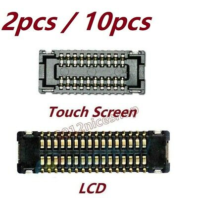 A1566, A1567 Group Vertical Replacement Touch Screen Digitizer 34-Pin FPC Connector Compatible with Apple iPad Air 2