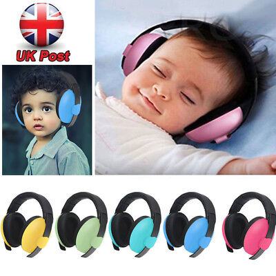 0-5Yrs BABY Childs Ear Protection Noise Isolator Boys Girls Defenders Earmuffs