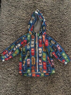 Next Boys Cars Coat 1.5 - 2 Years  / 18 - 24 Months