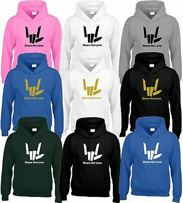 SHARE THE LOVE Kids Hoody Youtuber Youtube Stephen Sharer Gift Presnt Top Hoodie