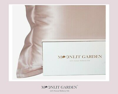 Premium Luxury Both Sides 100% Mulberry Silk Pillow case 25 Momme slip Anti-wrin