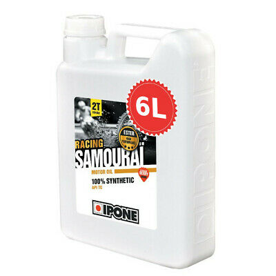 Huile IPONE SAMOURAI FRAISE Bidon 5 LITRES 5L 2T 100% synthèse 2 Temps NEUF