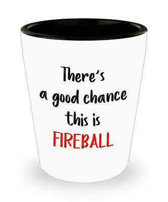 Fireball Whiskey Shot Glasses - There's a good chance this is Fireball -...