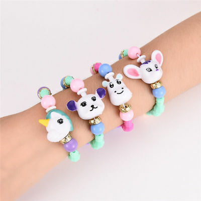 Cute Animal Bracelets Kids Toys Gifts DIY  Elasticity Twist Magic Tricks Mascot