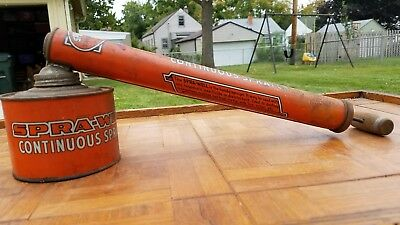 Vintage Spra-Well Insect Bug Sprayer