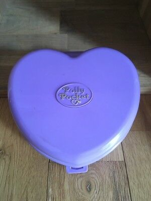 POLLY POCKEY VALISE COEUR VIOLET MARIAGE, Wonderful Wedding Party.