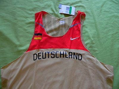 Athletisme team Allemagne femme taille L track and field running neuf JO