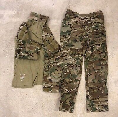 Brand New Crye Precision g3 30R and Small Short Shirt Multicam pants and shirt
