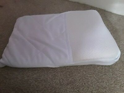 Baby wedge pillow cot Moses basket anti colic reflux newborn