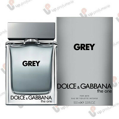 D&g Dolce E Gabbana Grey The One For Men Edt Intense Natural Spray