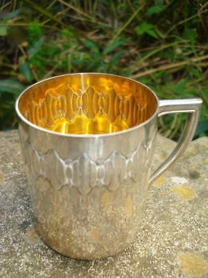 Stunning WMF Silver Plated & Gilded Interior Cup Art Deco