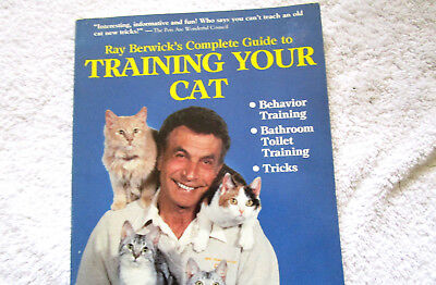 Book Training Your Cat Ray Berwick's Complete Guide Bathroom Toilet Training