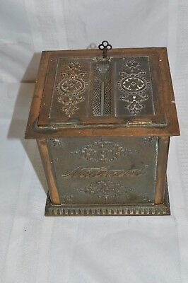 Antique National Cash Register Company Collection / Donation Box