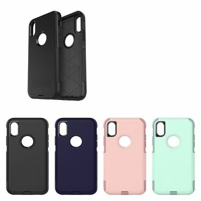 buy popular 5606c 1bb06 SHOCKPROOF CASE IPHONE 6 6S 7 8 X XR 10r XS MAX (Fit Otterbox Commuter Belt  Clip