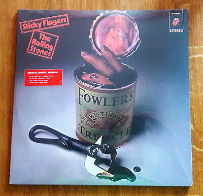 The Rolling Stones - Sticky Fingers - 2015 Ltd Edition Spanish Cover 2LP Vinyl