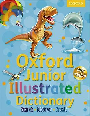 Oxford Junior Illustrated Dictionary 2012 NEW FREE P&P