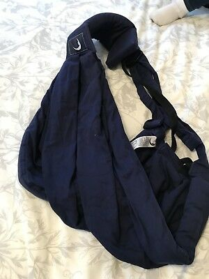 Baba sling Baby Carrier Navy Blue