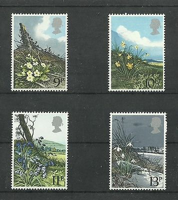 Great Britain 1979 Flowers  MNH