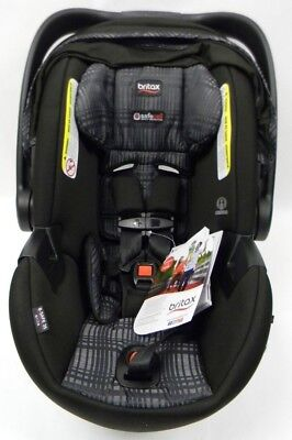 Infant Car Seat Britax BSafe 35 Elite Rear Facing in Black and Grey Domino