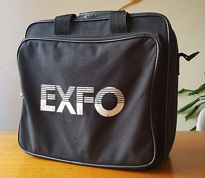 EXFO FTB-100B Mini-OTDR With Bag, Manual, but no Charger or Battery - TESTED