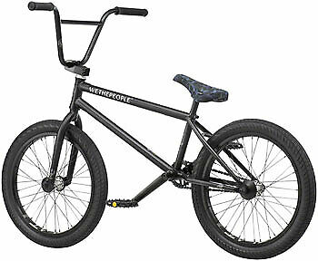 We The People Crysis 20 2019 Complete BMX Bike 20.5 Top Tube Matte Black