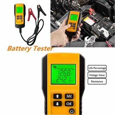 AE300 12V Vehicle Car Digital Battery Test Analyzer Accurate Diagnostic yellow G