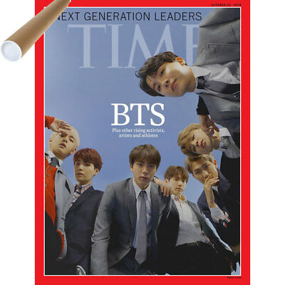 Time Magazine Asia Edition [ Bts Cover ] Magazine+Poster