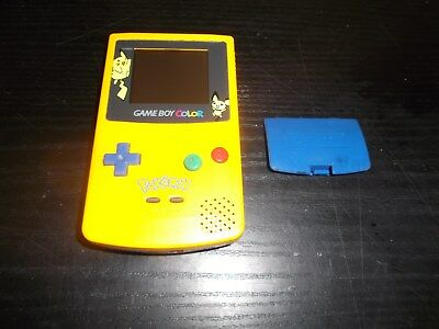 Console Nintendo Game Boy Color Edition Pikachu Pokemon Cache Pile
