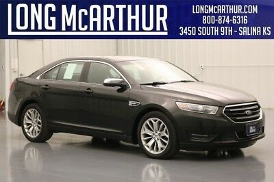 2015 Ford Taurus LIMITED FWD 3.5 V6 6 SPEED AUTOMATIC SEDAN HEATED BLACK LEATHER SEATS PUSH BUTTON START SYNC BLUETOOTH COMMUNICATIONS