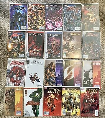 Marvel Dark Avengers 1-16 complete LOT with Annual 1 and Ares 1-3.