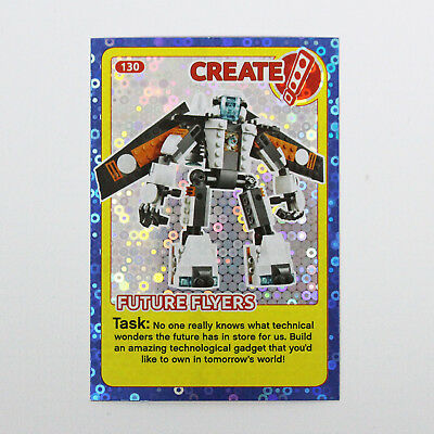 Lego Incredible Inventions Card #089 Shark Create the World