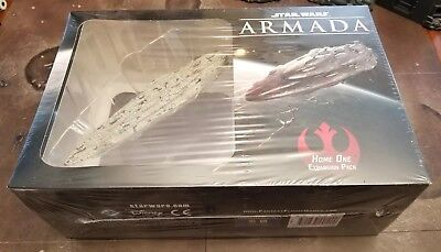 Star Wars Armada Home One Expansion Pack SEALED NEW Rebel Miniature Space Ship
