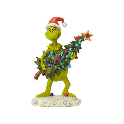 Jim Shore Christmas Grinch Stealing The Tree New 2018 6002067