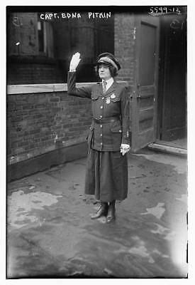 Captain Edna Pitkin,Police Force,law enforcement,officers,uniforms,salutes,women
