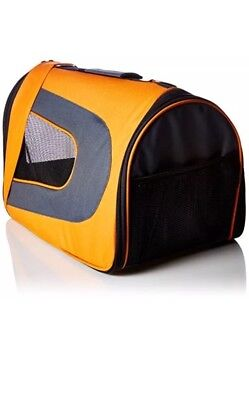 Pet Magasin Folding Travel Carrier Airline Approved For Cats Dogs Pups Rabbits