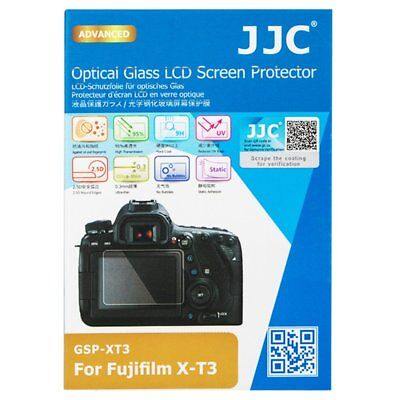 JJC GSP-XT3 Optical GLASS LCD Screen Protector Film for Fujifilm X-T3 XT3 _AU