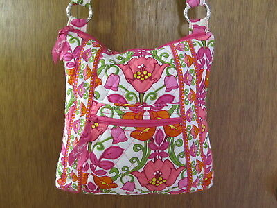 Retired VERA BRADLEY LILLI BELL Large Hipster CROSSBODY Shoulder BAG Purse  NEW dab32d50ce634