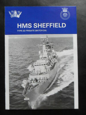 Royal Navy HMS SHEFFIELD Welcome Aboard 1994