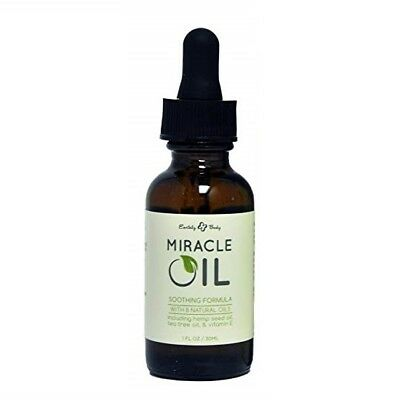 Earthly Body Miracle Oil Soothing Formula with Natural Oils 1 oz
