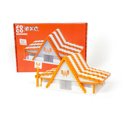 *MINT* BRXLZ Buildable Whataburger Restaurant COLLECTIBLE *RARE*