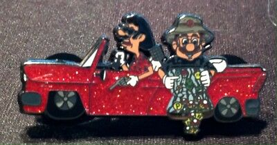 Hunter S Thompson Fear and Loathing in Las Vegas Red Car mario pin gonzo