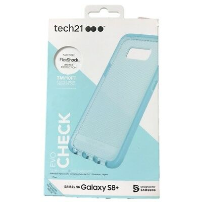 Tech21 Evo Check Case Cover for Samsung Galaxy S8+ S8 Plus Light Blue OP