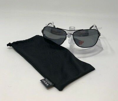 4ce5bae286 Oakley Conquest POLARIZED Sunglasses Polished Black W  Black Iridium OO4101- 04