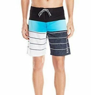 Reasonable Billabong Mens Tribong X Lo-fi Boardshorts Blue Red 32 New Swimwear